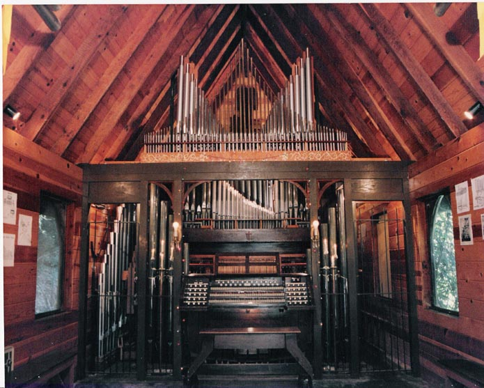 Now Hear This... Your browser does not support the audio tag. & Tour of Boomeria - The Pipe Organ